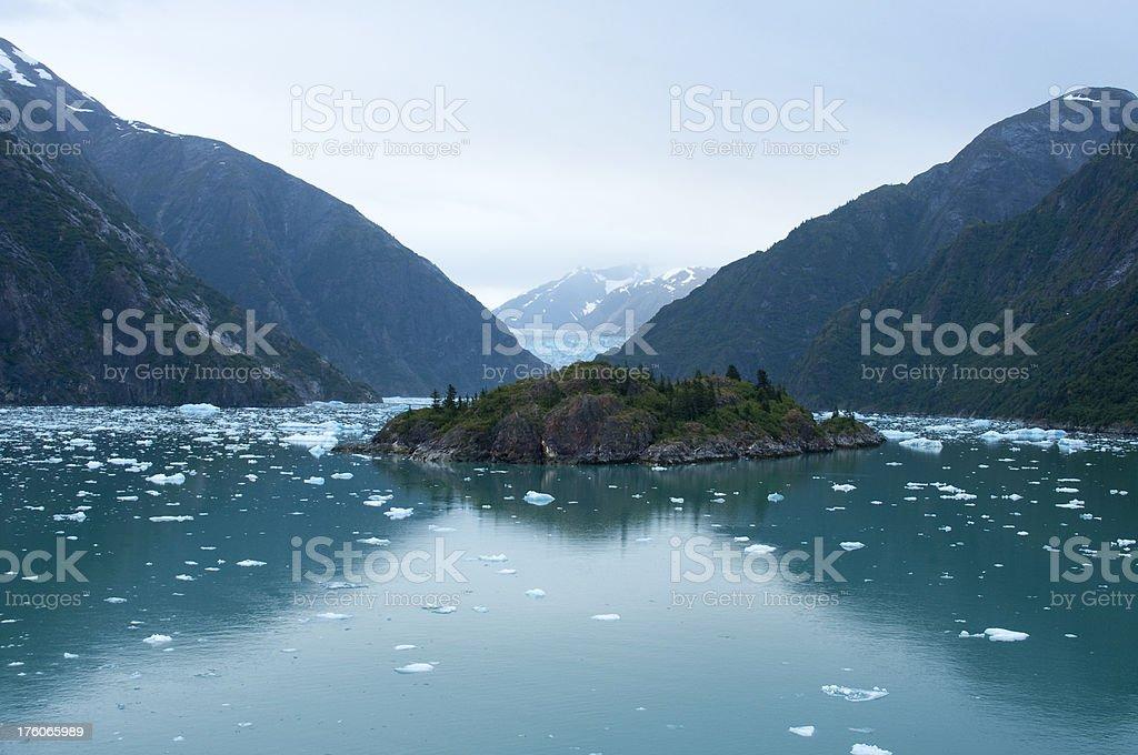 Sawyer Glacier stock photo