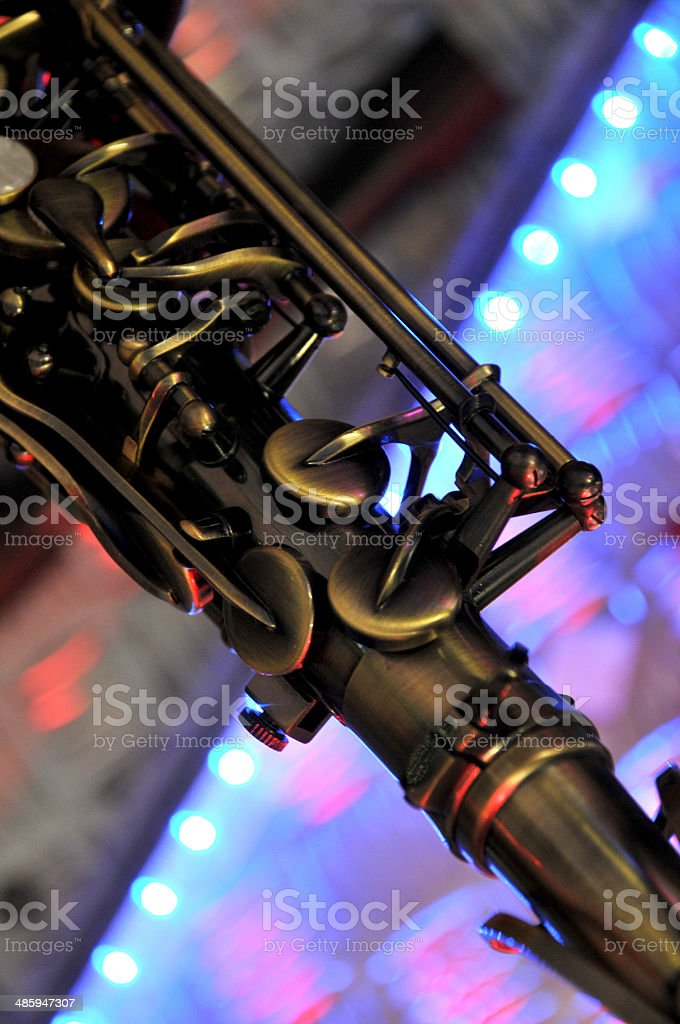 sax one royalty-free stock photo