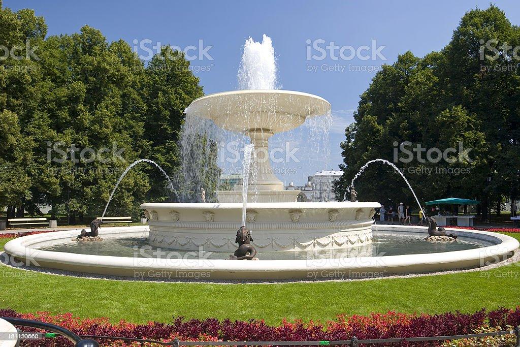 Saxon Garden royalty-free stock photo