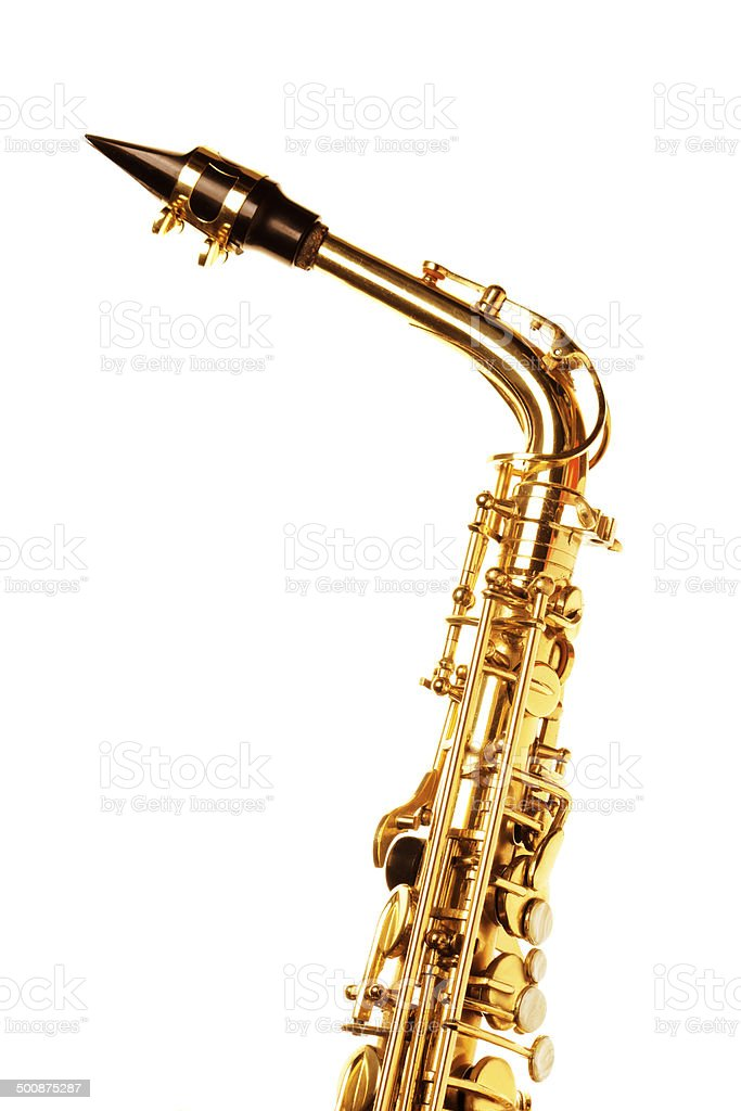 Saxophone. stock photo