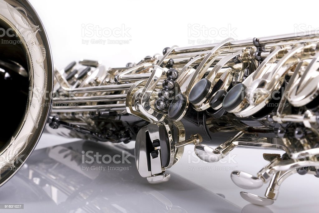 Saxophone royalty-free stock photo