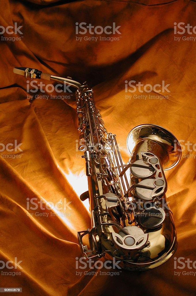 saxophone2 royalty-free stock photo