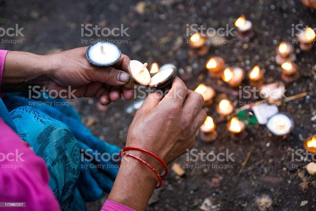 say a little prayer stock photo