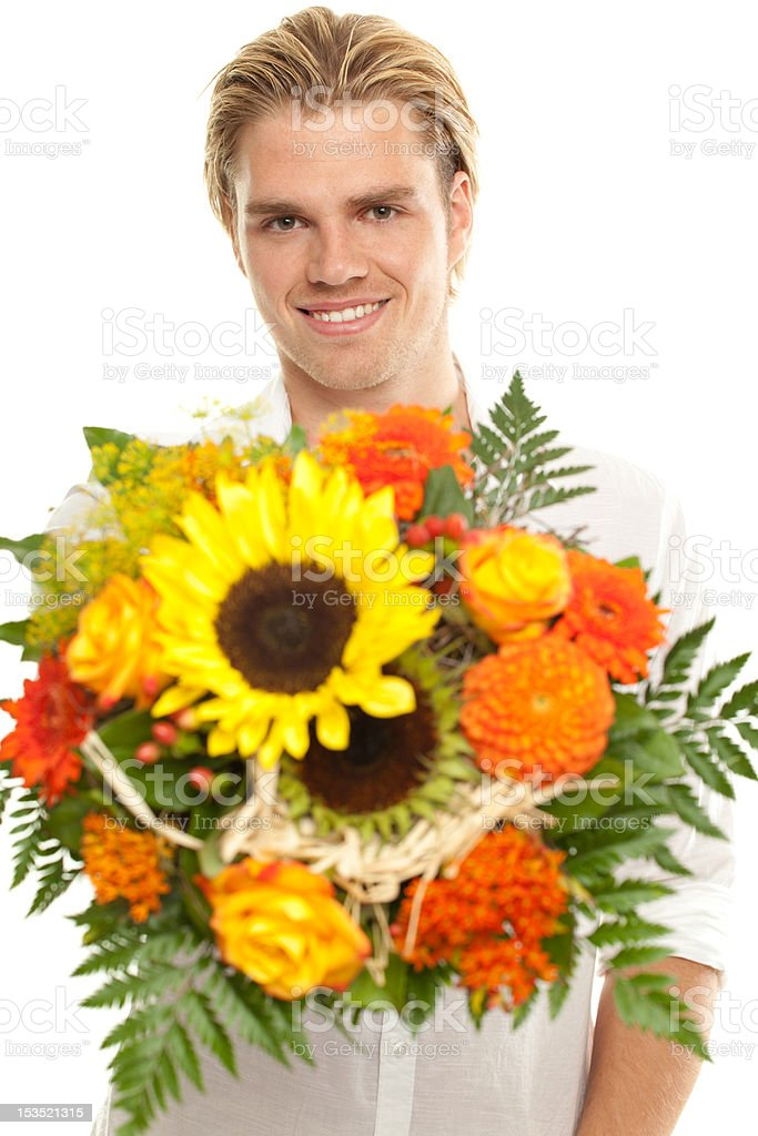 say it with flowers stock photo