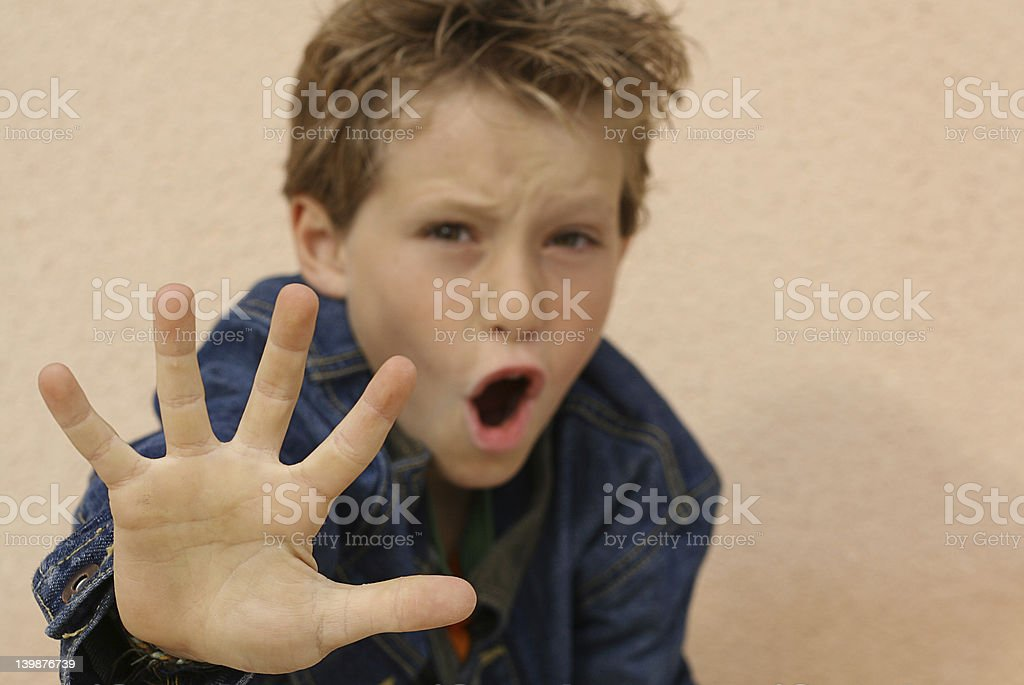 Say NO (Scroll down page for similar images) royalty-free stock photo