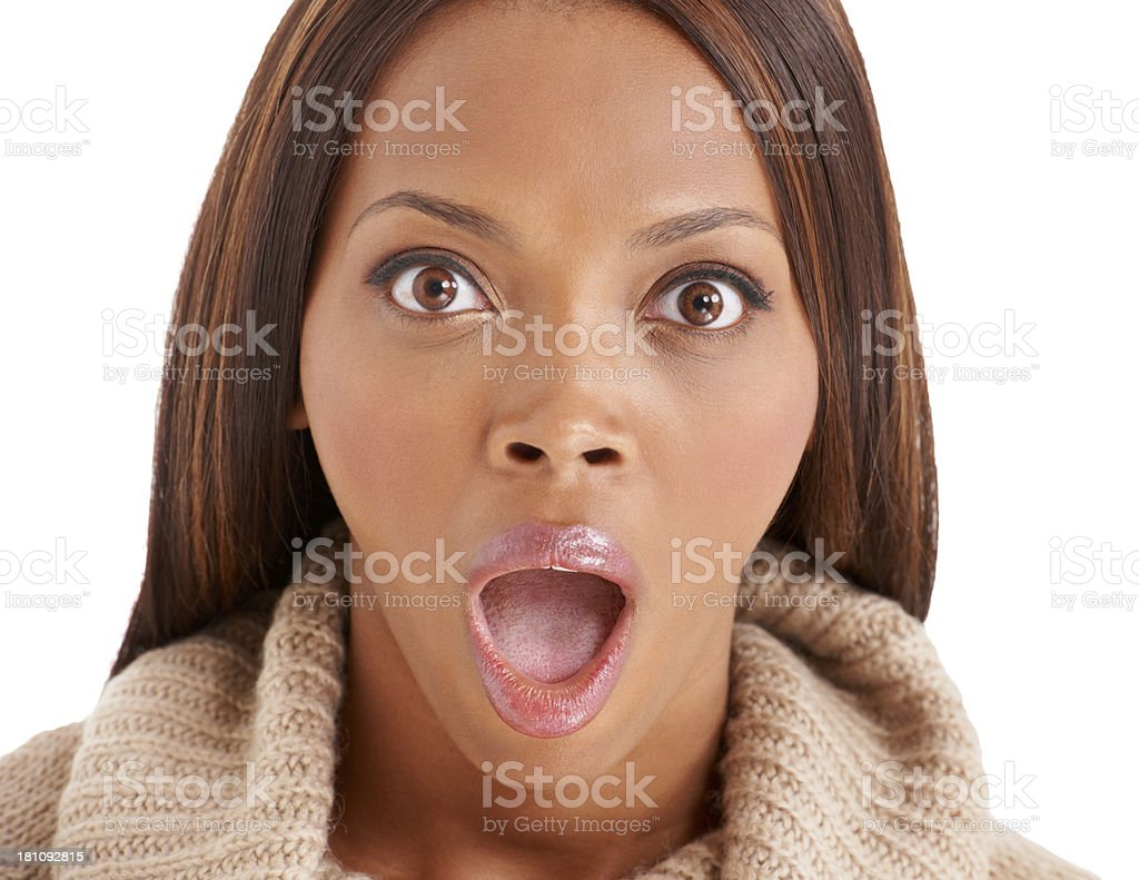 Say whaaaat royalty-free stock photo