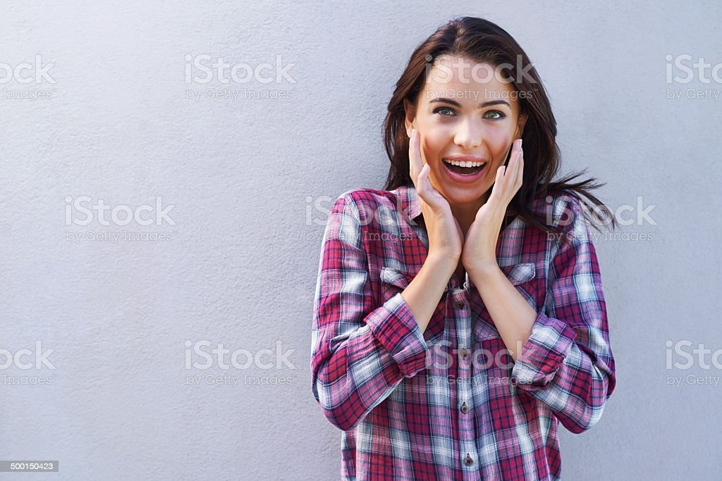 Say what?! royalty-free stock photo
