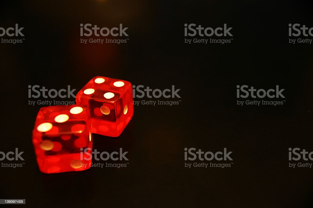 dice 5 royalty-free stock photo