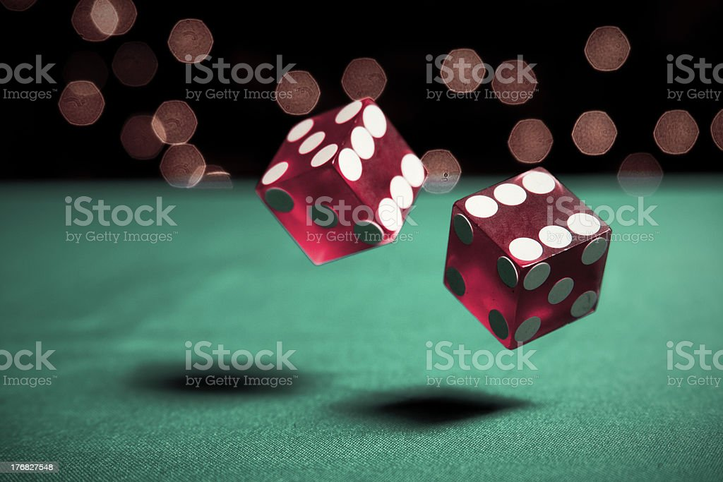 Dice Horizontal stock photo
