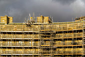 Scaffolding On A Project In Buxton