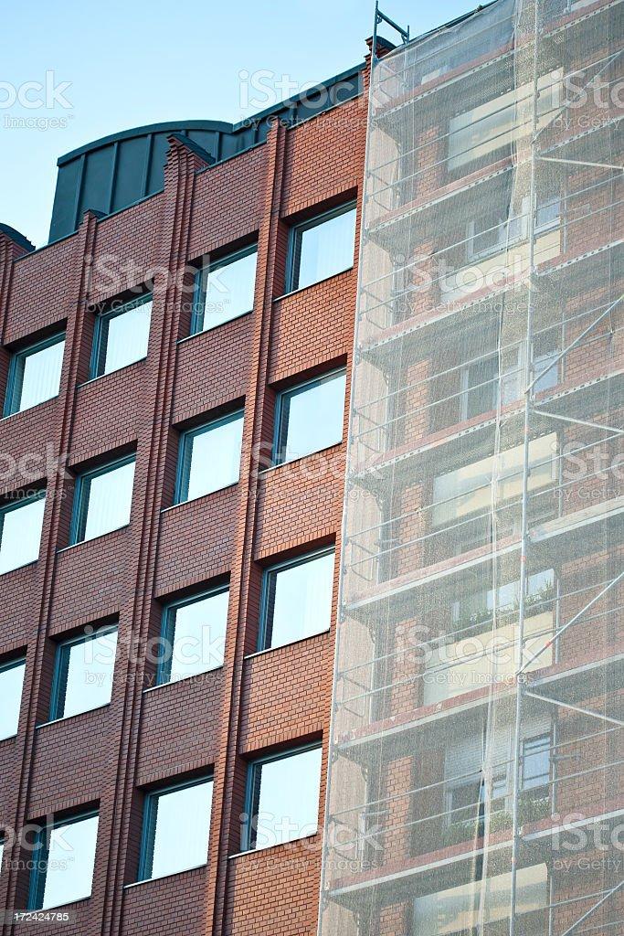 scaffolding royalty-free stock photo