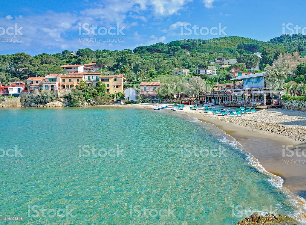 Scaglieri,Portoferraio,Elba island,Italy stock photo