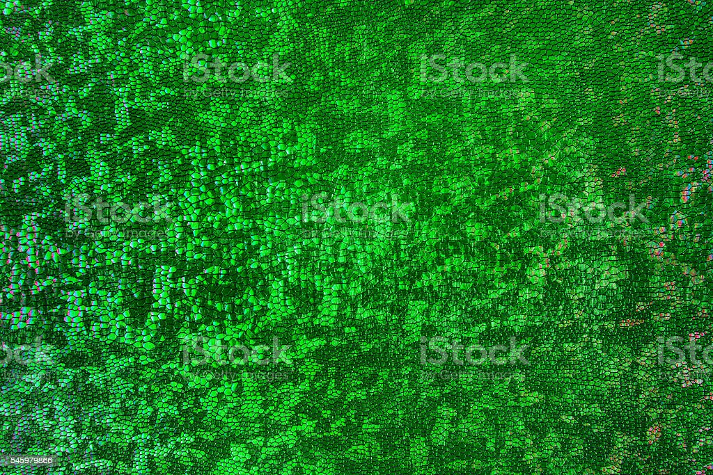 Scale Background, Green Snake Skin Pattern, Abstract Scaly Texture stock photo