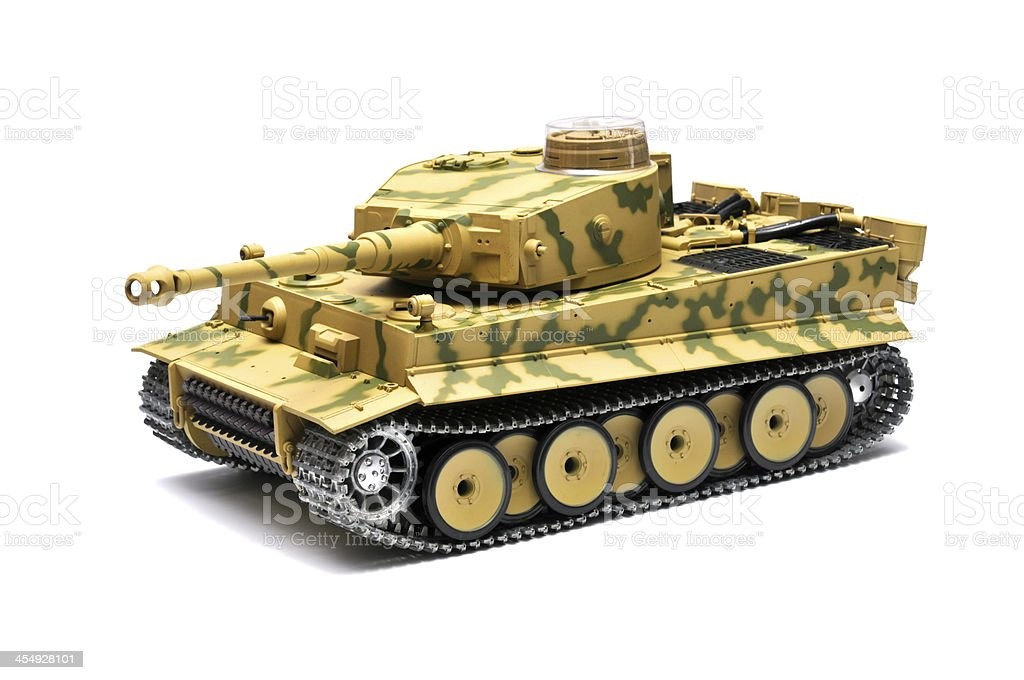 Scale model German tank 'Panther' royalty-free stock photo