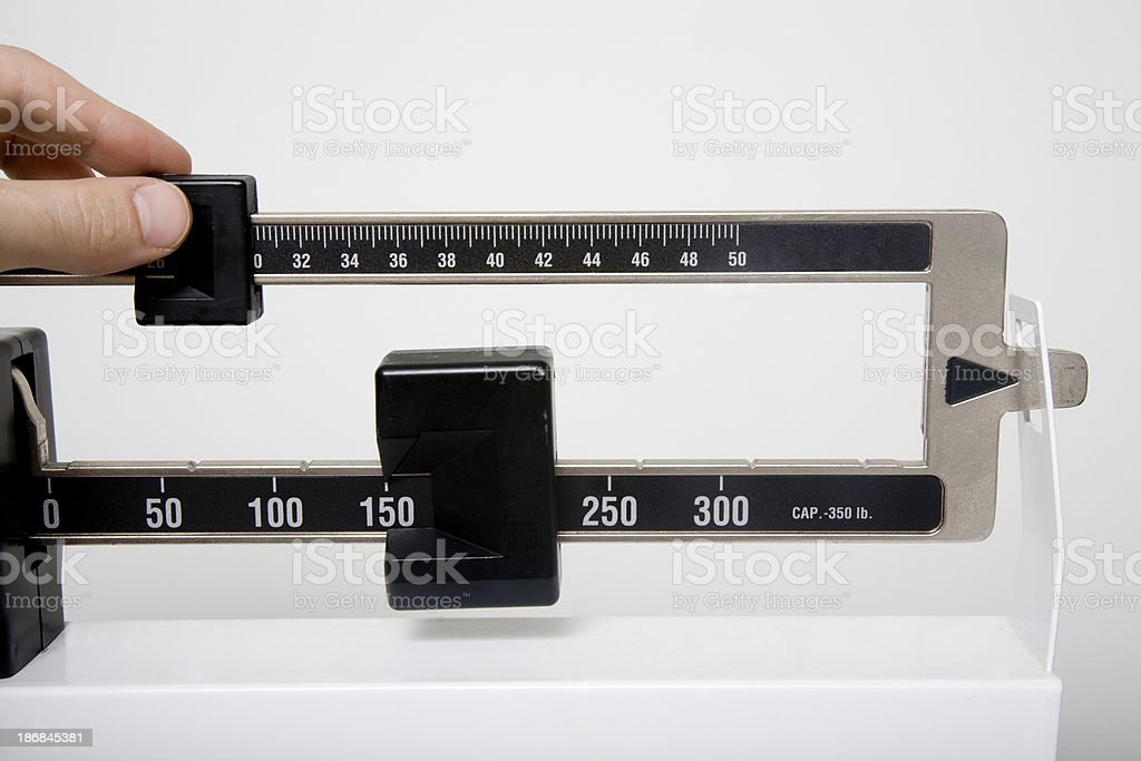 Scale royalty-free stock photo