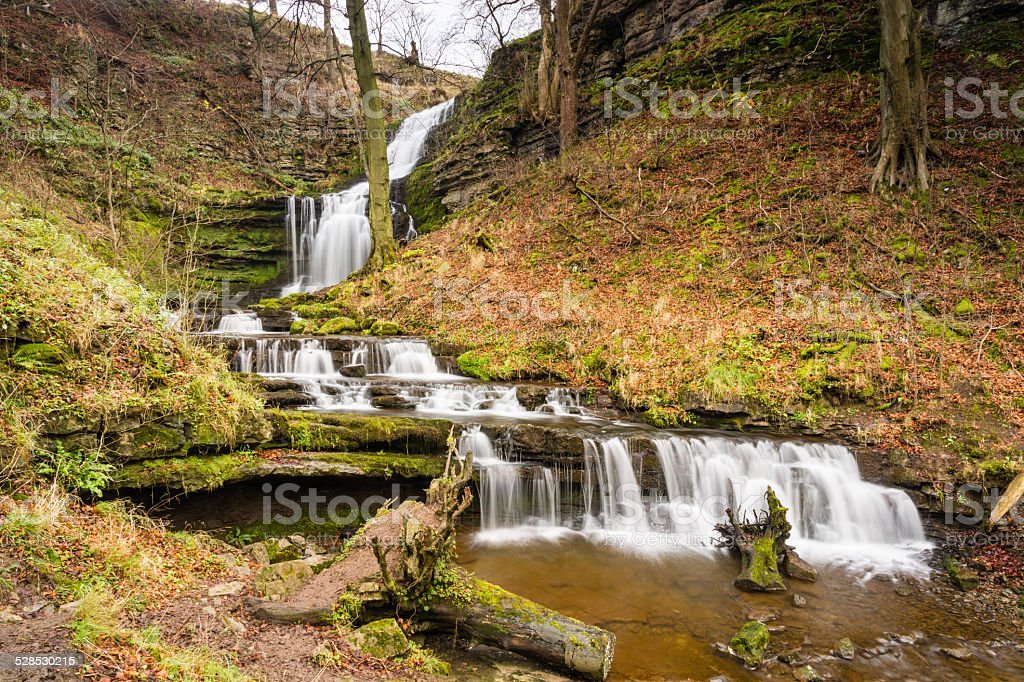 Scaleber Force Waterfall stock photo