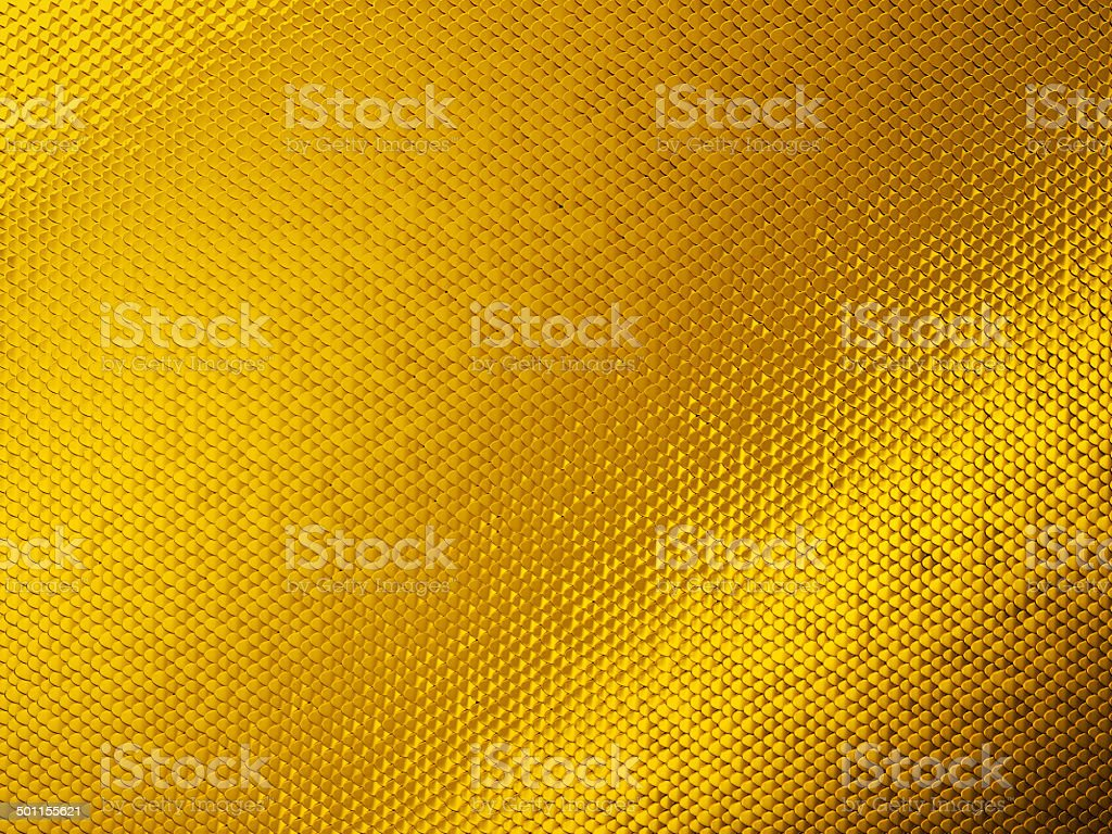 Scales or squama golden texture or background stock photo