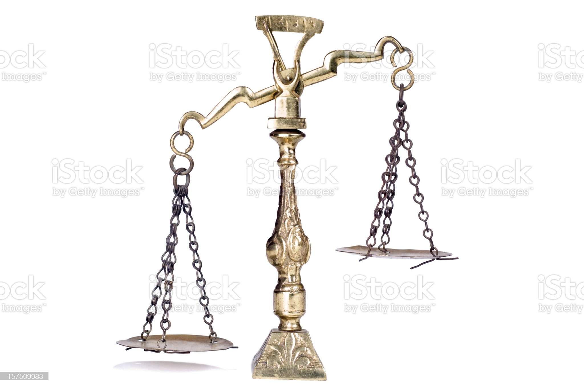 Scales royalty-free stock photo