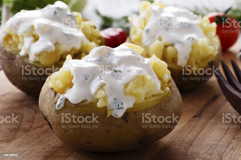 scalloped potatoes stock photo