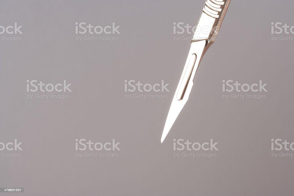 A scalpel stock photo