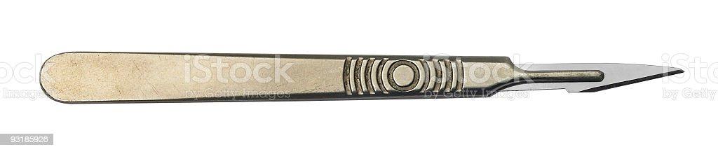 scalpel stock photo