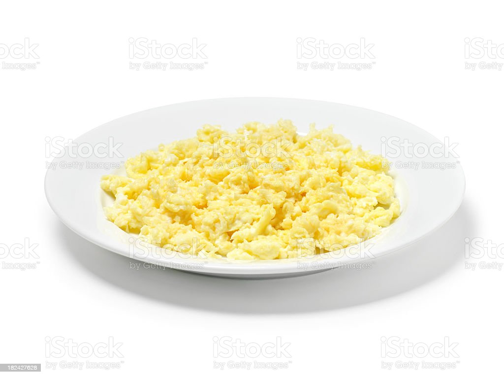 Scambled Eggs stock photo