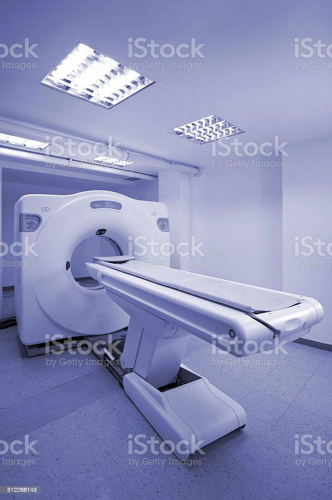 MRI scan machine stock photo