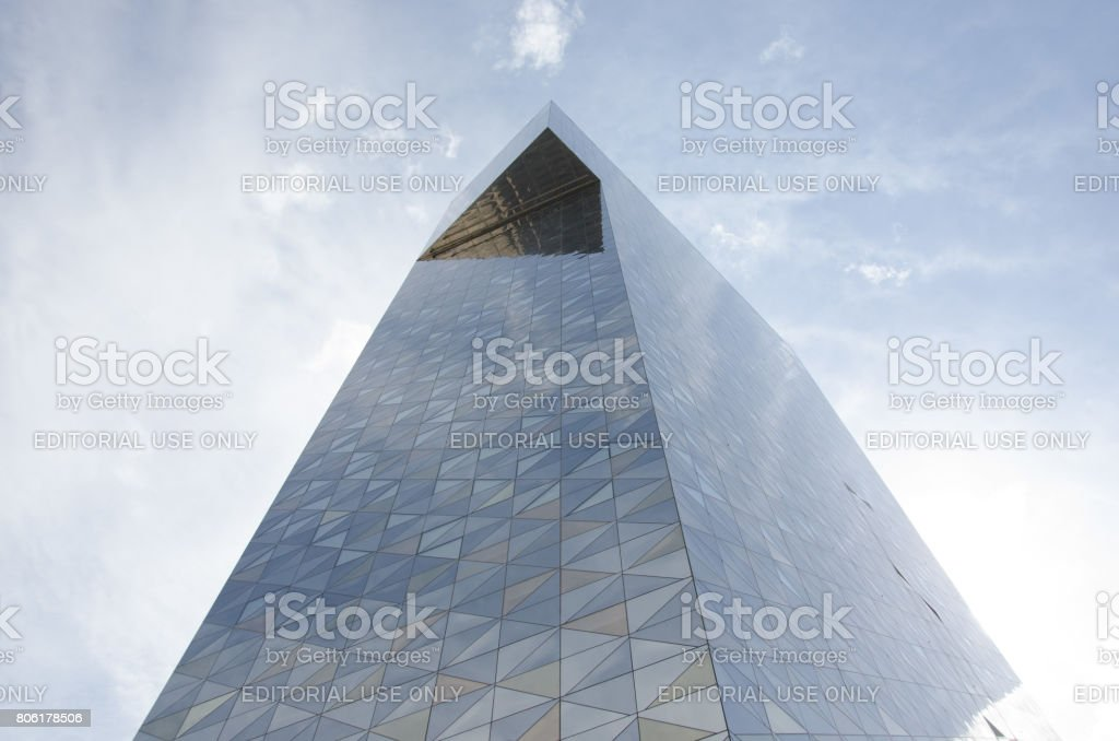 Scandic Victoria tower - Hotel stock photo