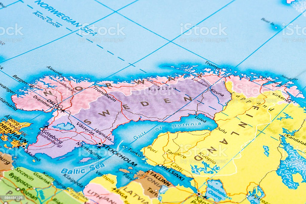 Scandinavia stock photo