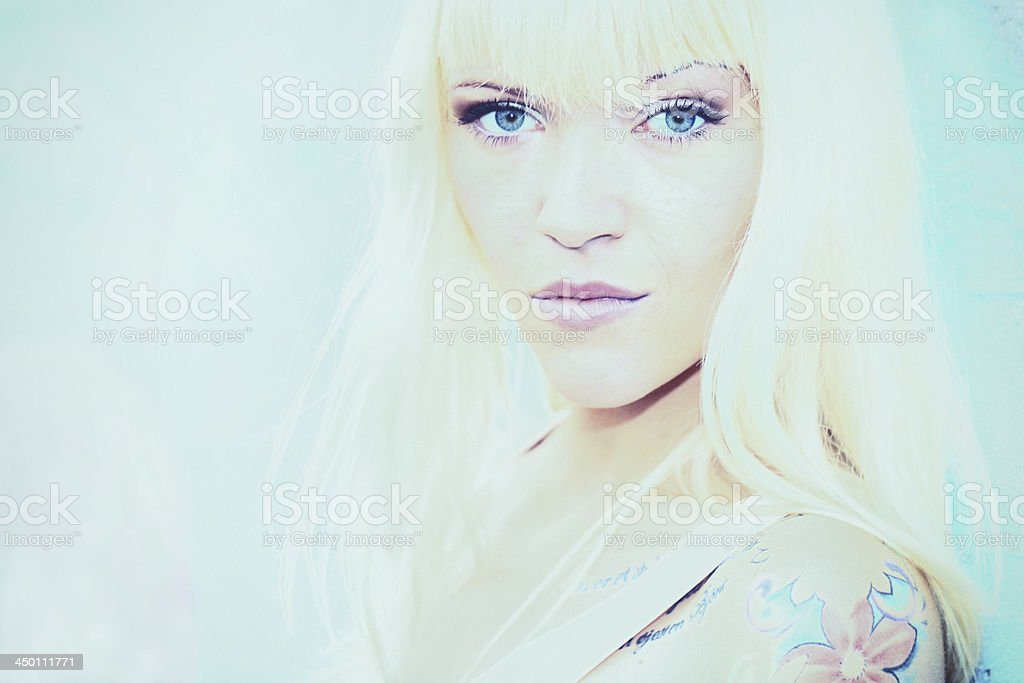 Scandinavian woman royalty-free stock photo