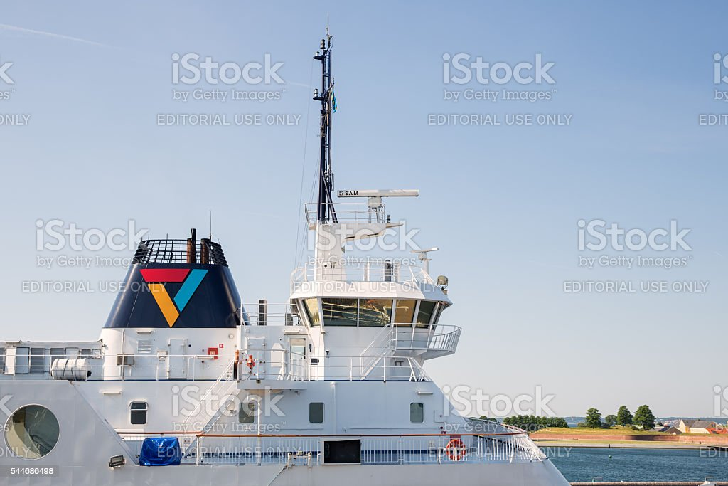 Scandlines ferry company stock photo