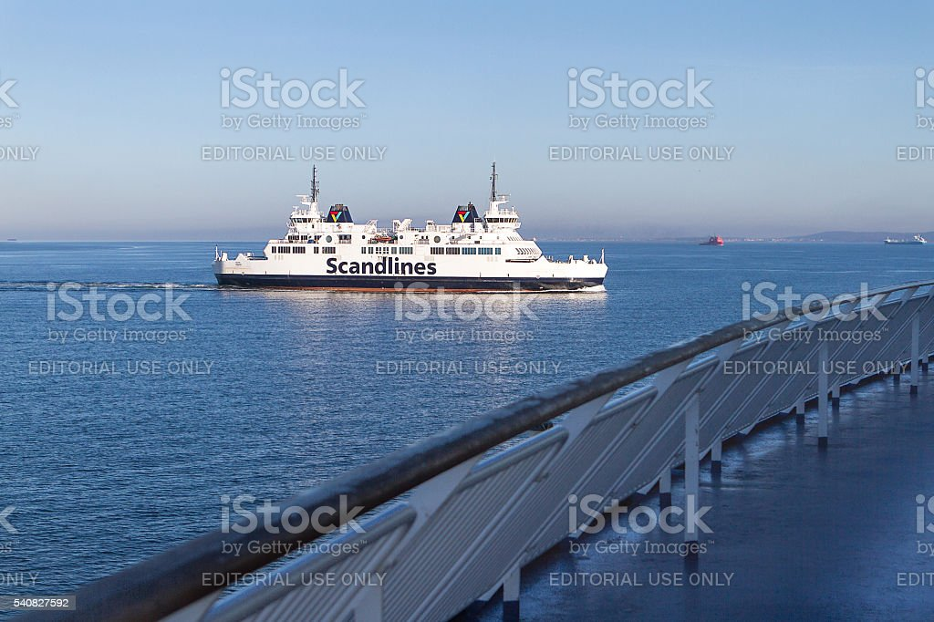 Scandlines ferry stock photo
