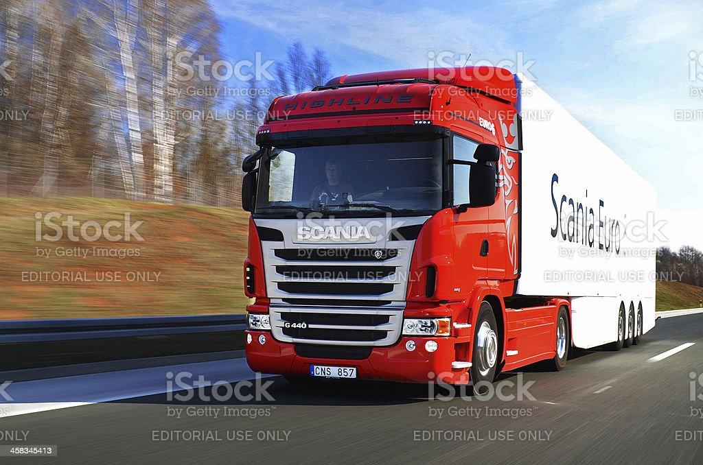 Scania G440 Euro 6 royalty-free stock photo