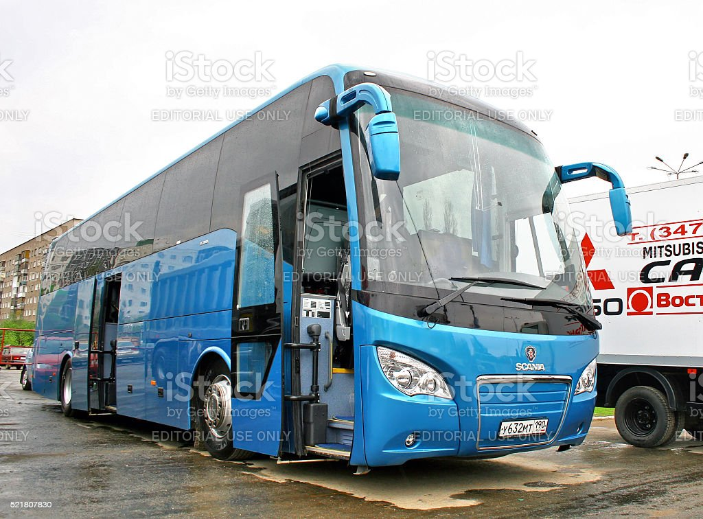 Scania Higer A80 stock photo