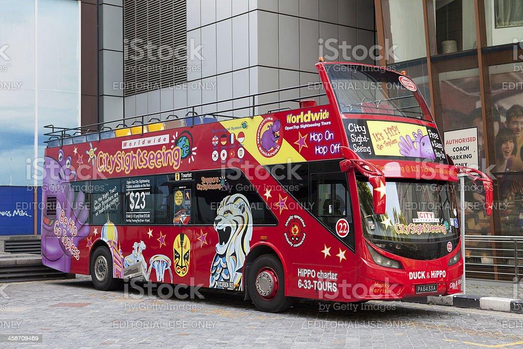 Scania K230UB sightseeing tour bus royalty-free stock photo