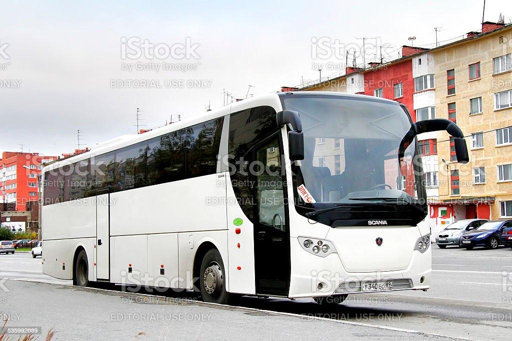 Scania OmniExpress 340 stock photo
