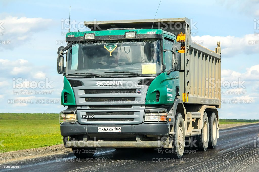 Scania P380 stock photo