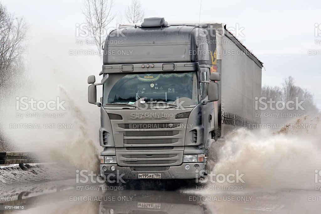 Scania R420 stock photo