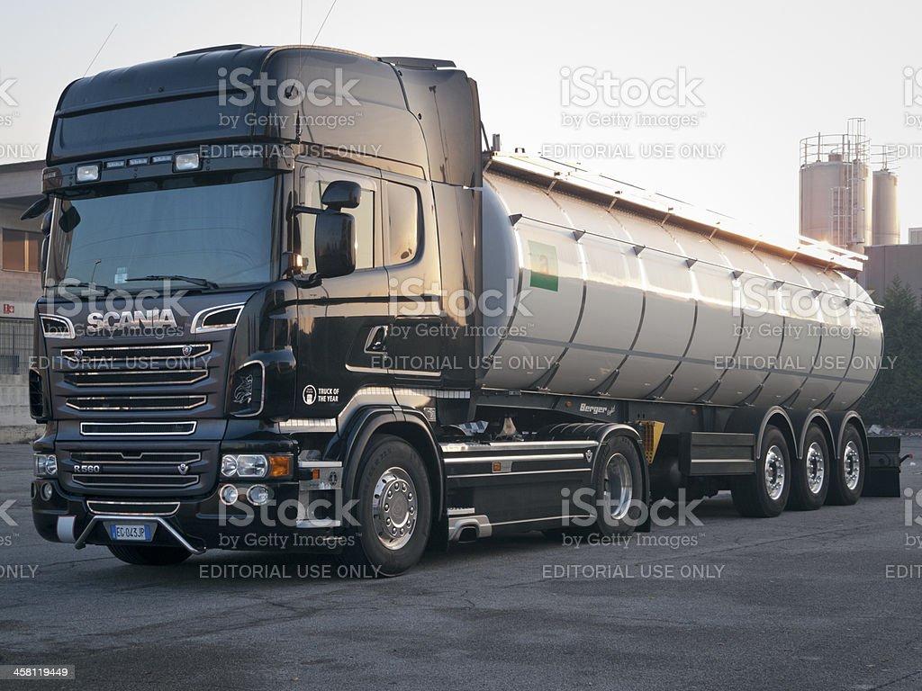 Scania truck royalty-free stock photo