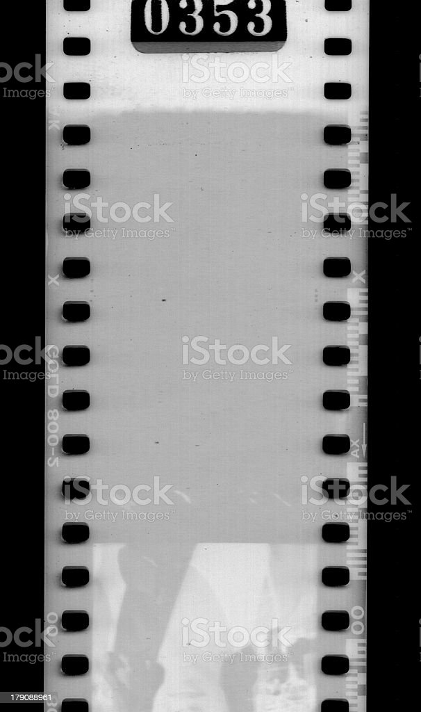 scanned film stock photo