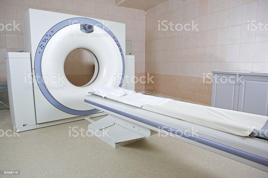 MRI scanner royalty-free stock photo