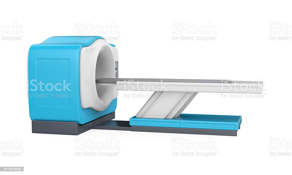 CT Scanner Tomography stock photo