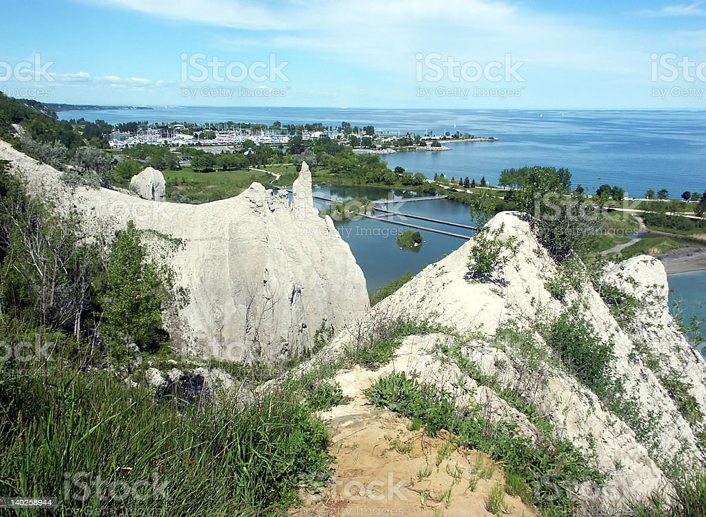 Scarborough Bluffs stock photo