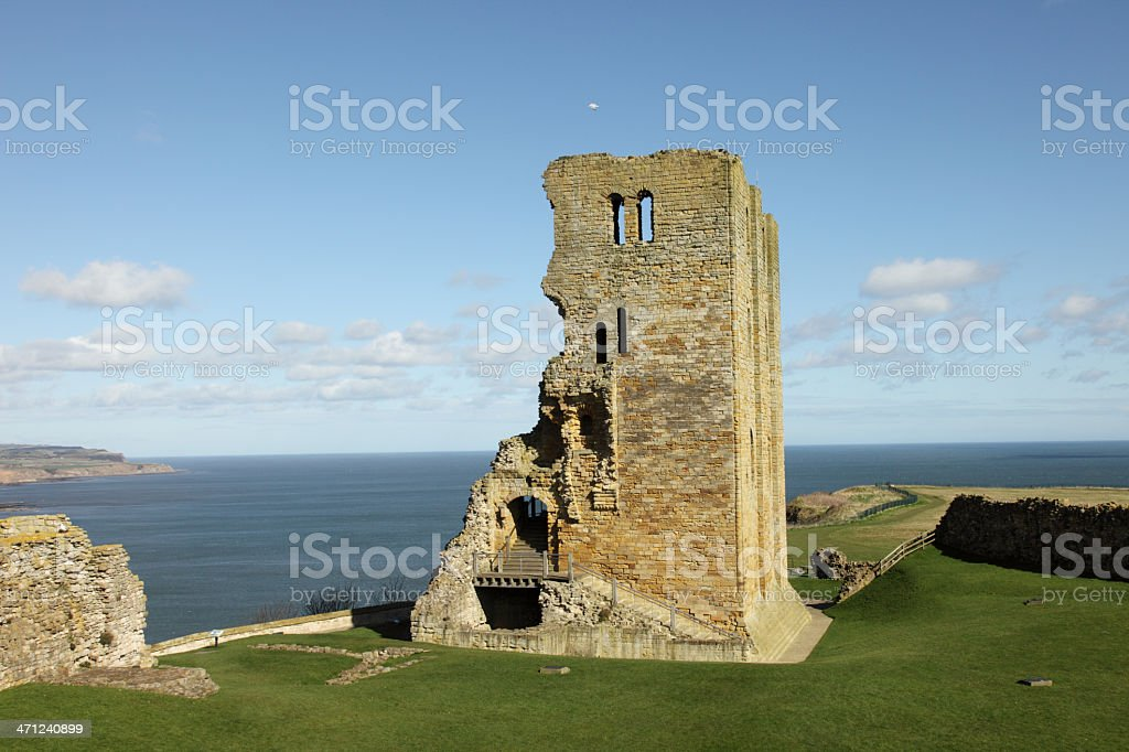 Scarborough Castle (XXXL) royalty-free stock photo