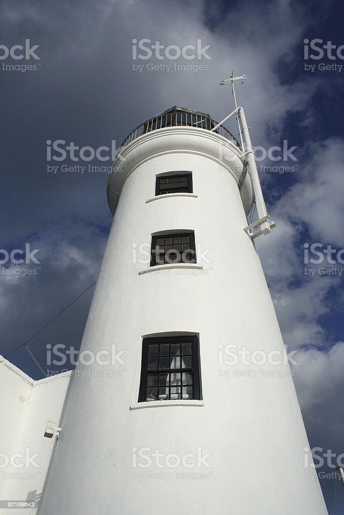 Scarborough Lighthouse royalty-free stock photo