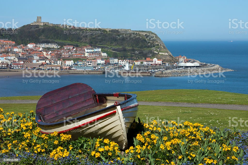 Scarborough - North Yorkshire - England stock photo