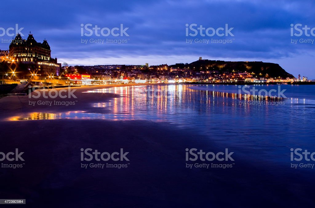 Scarborough, North Yorkshire stock photo