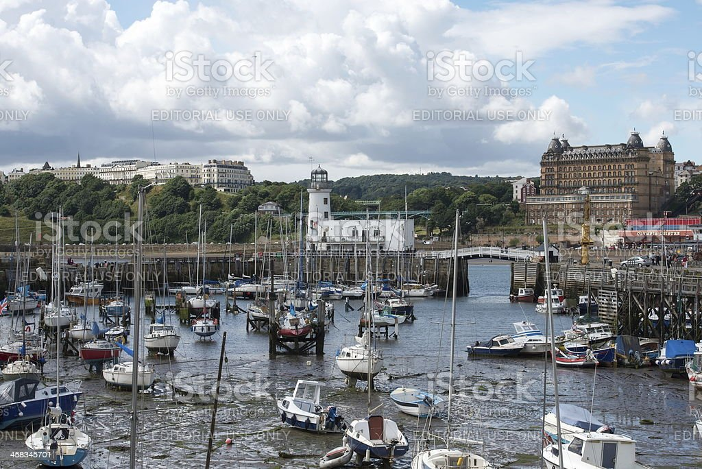 Scarborough royalty-free stock photo