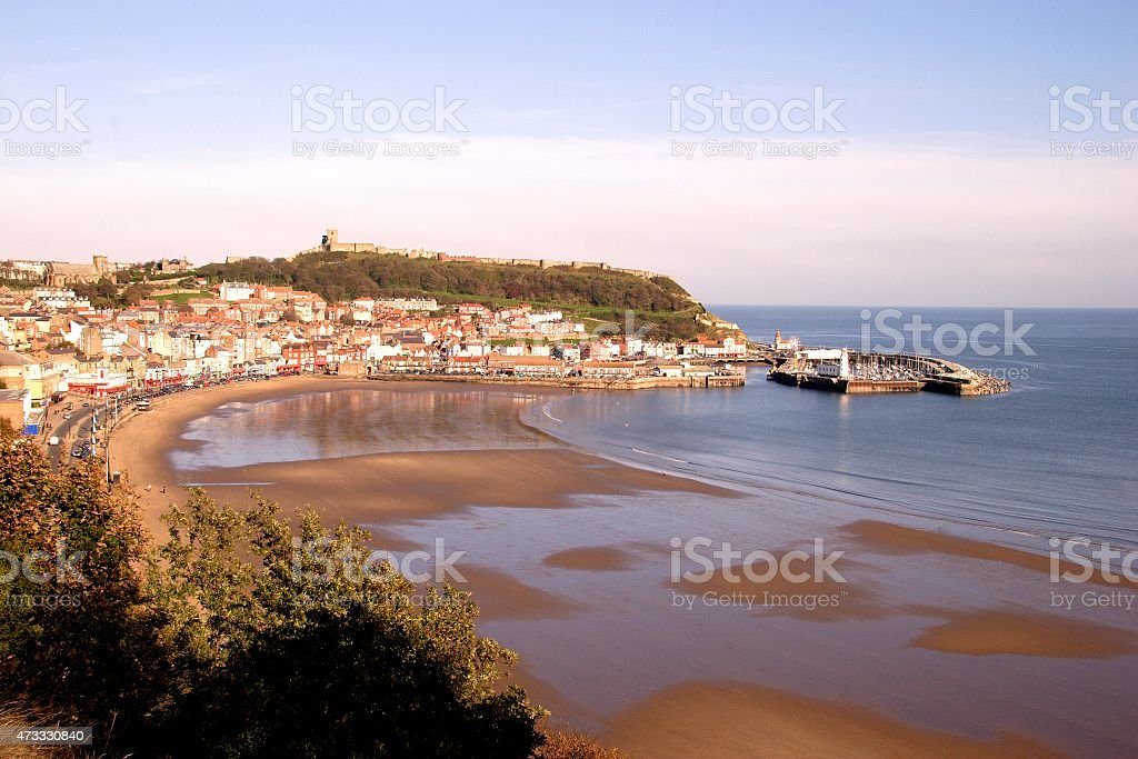 Scarborough South Bay stock photo