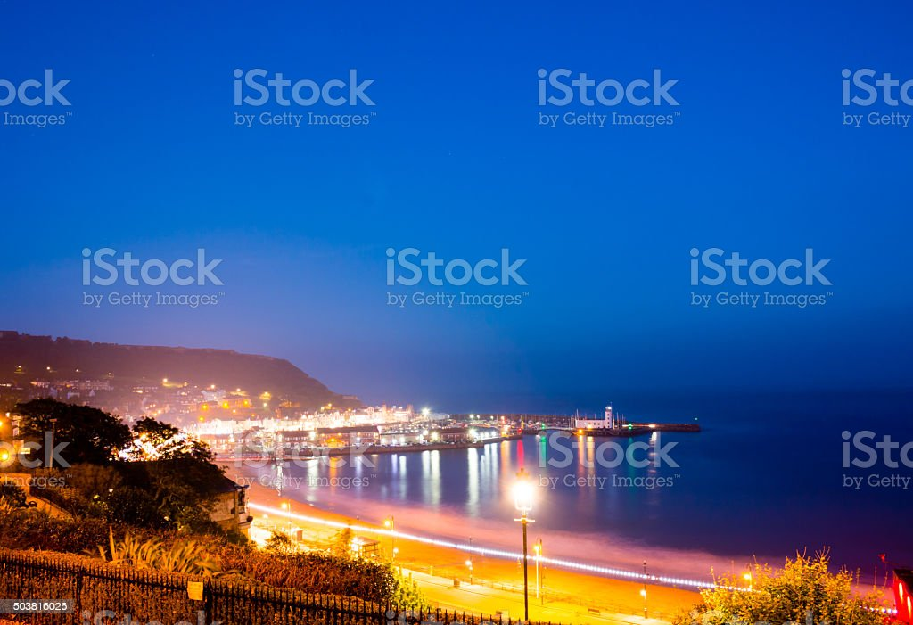 Scarborough South Sands stock photo